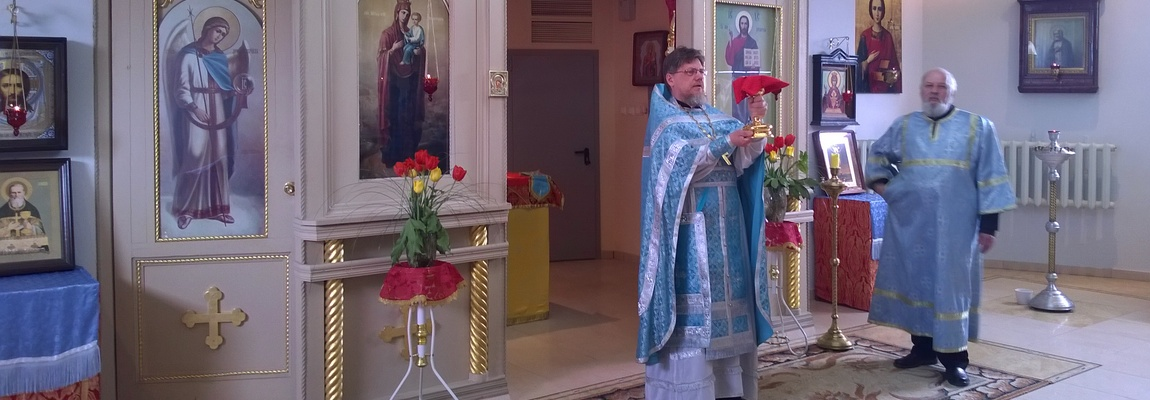 Божественная Литургия в больничном храме